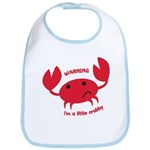 I'm A Little Crabby Bib