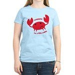 I'm A Little Crabby Women's Light T-Shirt