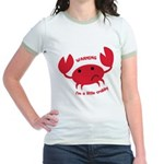 I'm A Little Crabby Jr. Ringer T-Shirt