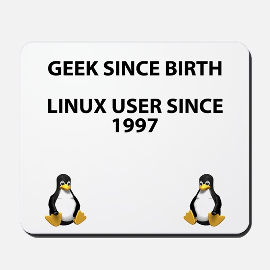 Geek since birth. Linux...1997 Mousepad