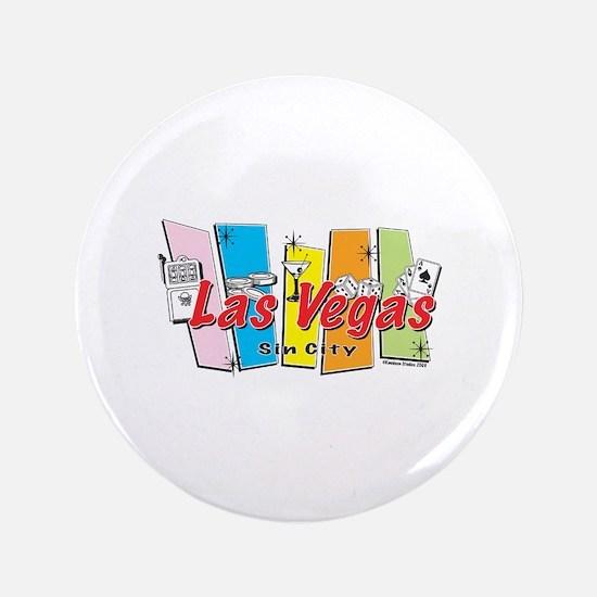 """Las Vegas Retro 3.5"""" Button"""
