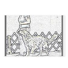 Golden Heeling Postcards (Package of 8)