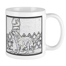 Golden Heeling Small Mug