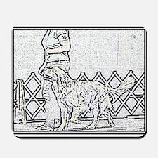 Golden Heeling Mousepad