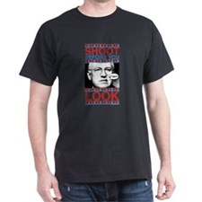 Cheney Shoot Black T-Shirt