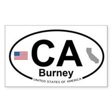 Burney Decal