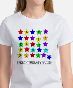Speech Therapy Rules Women's T-Shirt