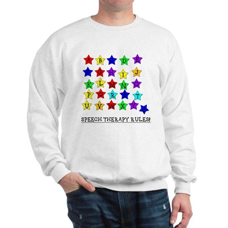 Speech Therapy Rules Sweatshirt