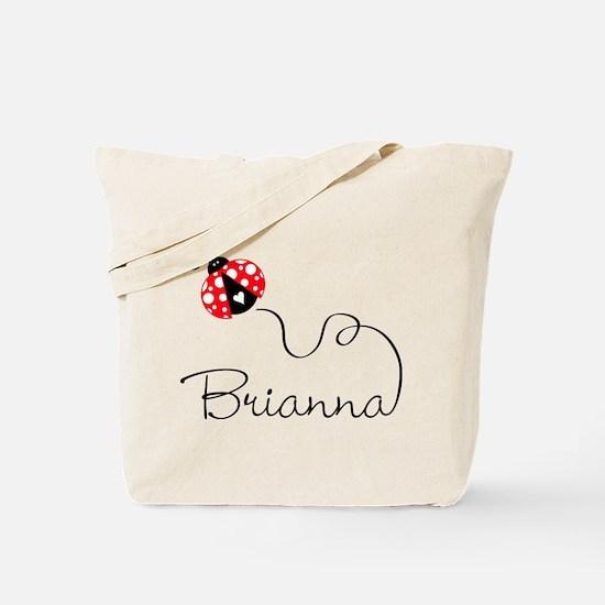 Ladybug Brianna Tote Bag