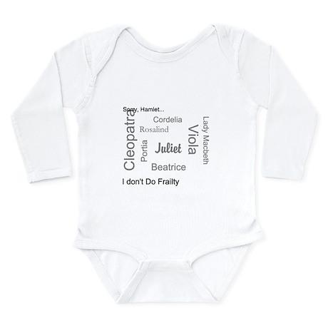 Sorry, Hamlet Long Sleeve Infant Bodysuit