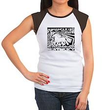 Pop Art Racehorse Women's Cap Sleeve T-Shirt