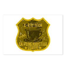 X-Ray Tech Caffeine Addiction Postcards (Package o