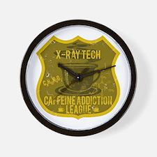 X-Ray Tech Caffeine Addiction Wall Clock