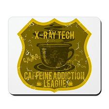 X-Ray Tech Caffeine Addiction Mousepad