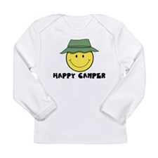 Happy Camper camping Long Sleeve Infant T-Shirt