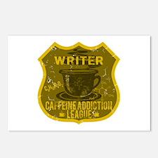 Writer Caffeine Addiction Postcards (Package of 8)