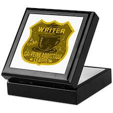 Writer Caffeine Addiction Keepsake Box