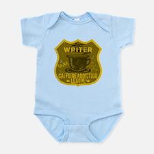 Writer Caffeine Addiction Infant Bodysuit