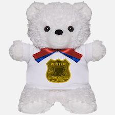 Writer Caffeine Addiction Teddy Bear