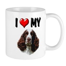 I Love My Springer Spaniel Mug