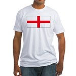 England English St. George Bl Fitted T-Shirt