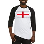 England English St. George Bl Baseball Jersey