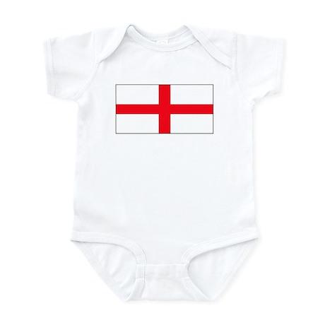 England English St. George Bl Infant Creeper