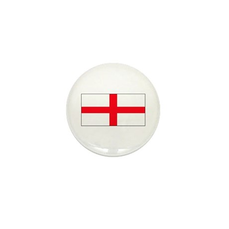 England English St. George Bl Mini Button (10 pack