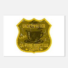 Underwriter Caffeine Addiction Postcards (Package