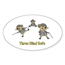Three Blind Refs Decal