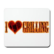 I Love Grilling Mousepad