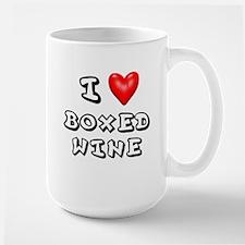 I Love Boxed Wine Shirt Mug