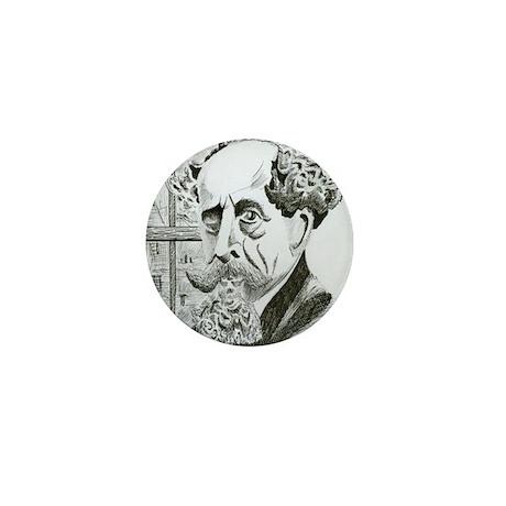 Dickens Mini Button (10 pack)
