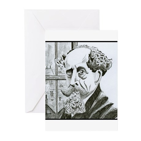 Dickens Greeting Cards (Pk of 10)