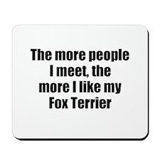 Fox Terrier Mousepad