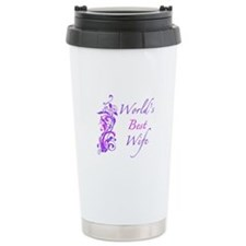 World's Best Wife (Floral) Travel Mug