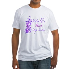 World's Best Step Sister (Floral) Shirt