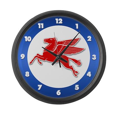 Pegasus Retro Large Wall Clock