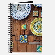 Cute Italian tile Journal