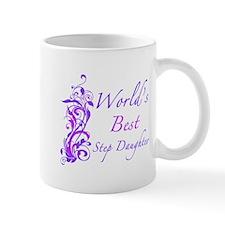 World's Best Step Daughter (Floral) Mug