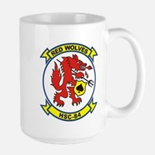 HSC-84 Red Wolves Mug