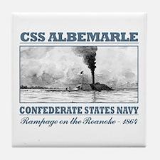 CSS Albemarle Tile Coaster