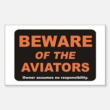 Beware / Aviators Decal