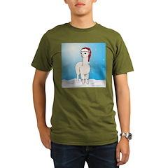 Santa Alpaca T-Shirt