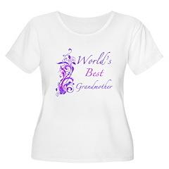 World's Best Grandmother (Floral) T-Shirt