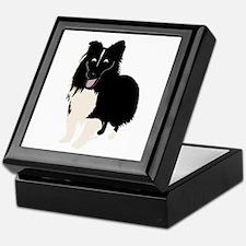 Shetland Sheepdog v4 Keepsake Box