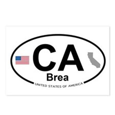 Brea Postcards (Package of 8)