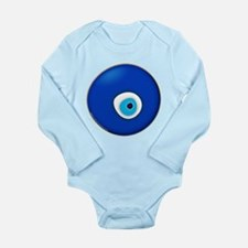 Evil Eye Long Sleeve Infant Bodysuit