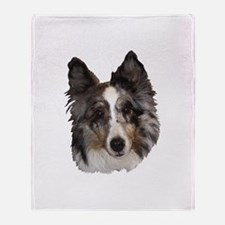 Shetland Sheepdog v2 Throw Blanket
