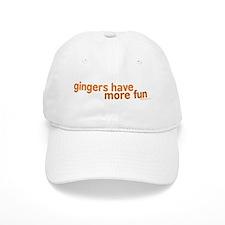 Gingers Have More Fun Baseball Cap